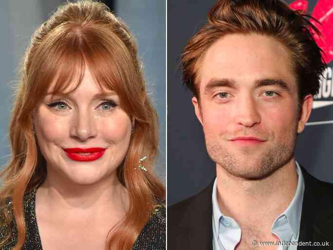Bryce Dallas Howard used Robert Pattinson-themed stationery 'for years' - The Independent