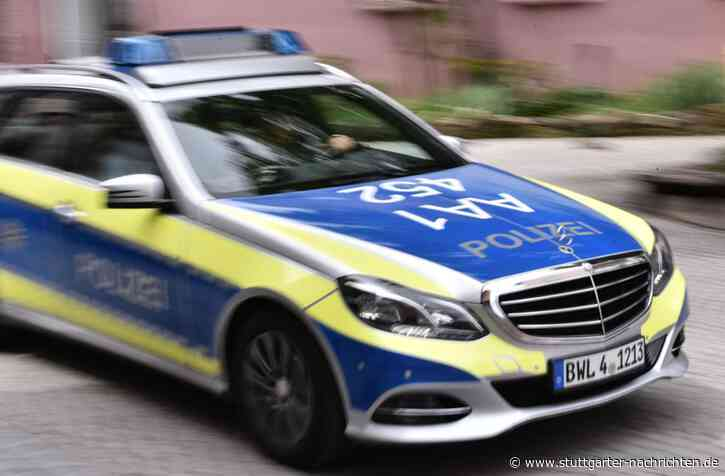 Im Wald bei Weinheim - 22-Jähriger hängt Hakenkreuzfahne auf - Stuttgarter Nachrichten