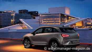Nexo vor Mirai: Hyundai überholt Toyota bei Wasserstoffautos - manager-magazin.de