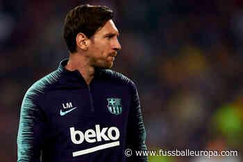 """""""Lionel Messi hat nie gesagt, dass er nicht weitermachen möchte"""" - Fussball Europa"""