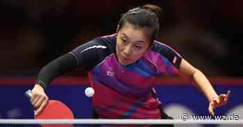 Tischtennis: Han Ying gewinnt das Düsseldorf Masters - Westdeutsche Zeitung