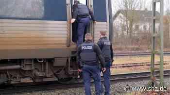 Flensburg: Bundespolizei entdeckt zwölf unerlaubt Einreisende in Zügen aus Dänemark | shz.de - shz.de