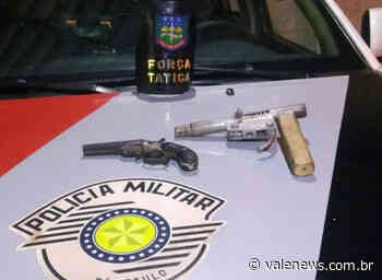 Força Tática apreende duas armas de fogo no Vista Alegre em Pindamonhangaba - Vale News