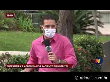 Enfermeira é agredida por paciente em Guaramirim - ND