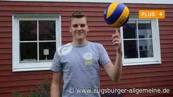 Bobingen: Moritz Gärtner will Volleyball-Profi werden - Augsburger Allgemeine