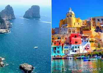 Capri, Ischia e Procida: nessun distanziamento su traghetti e aliscafi - Vesuvio Live