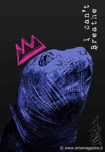 #SeaToLove Edition. La Poster Art di Ischia Street Art denuncia l'inquinamento marino - Arte Magazine