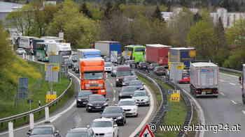 Ferienstart in Salzburg: Weniger Staus, aber Wartezeit an Grenze - SALZBURG24