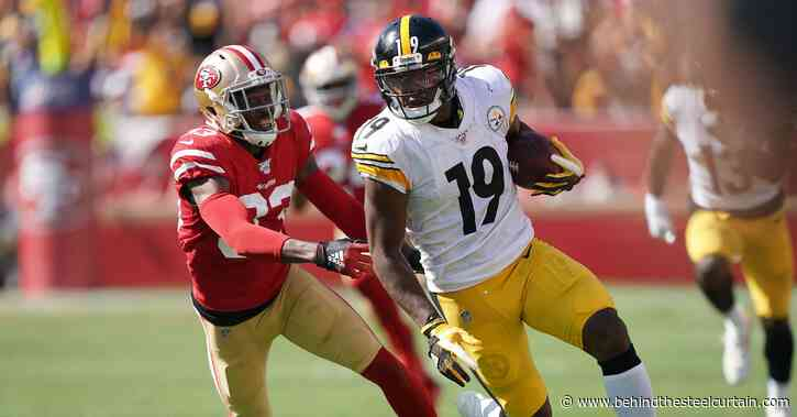 JuJu Smith-Schuster continues the Steelers gift giving party