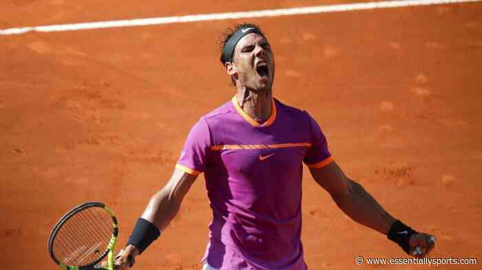 Rafael Nadal Casts Doubts Over US Open Participation After Committing for Mutua Madrid Open 2020 - Essentially Sports