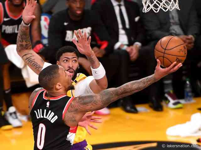 Trail Blazers' Damian Lillard Reacts To Lakers Trade Rumors