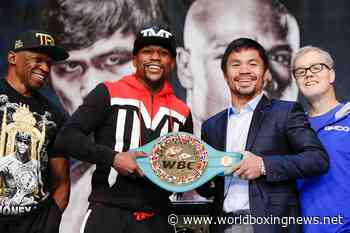 Why wasn't Floyd Mayweather vs Manny Pacquiao a two-weight title bout? - WBN - World Boxing News