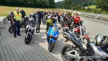 """Polizei Regenstauf kontrolliert Motorräder – """"Bayern mobil – sicher ans Ziel"""" - Wochenblatt.de"""