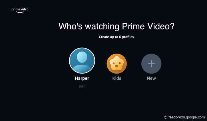 Amazon Prime Video finally introduces viewer profiles for users across the globe