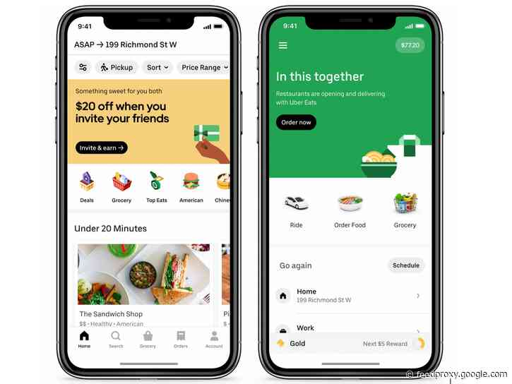 Uber launches grocery delivery service in Canada and Latin America, coming to the US too
