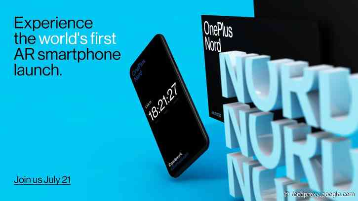 OnePlus Nord is launching in India on July 21