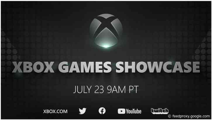 Microsoft schedules an Xbox Games Showcase event on July 23