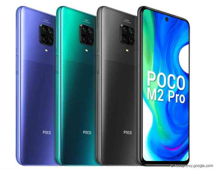 POCO M2 Pro launched in India, price starts at Rs 13,999