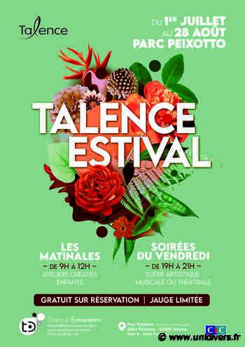 Talence Estival Ville de Talence mercredi 1 juillet 2020 - Unidivers