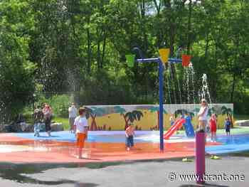 Brant to Open Splash Pads Amid Prolonged Heat Wave - BRANT.one