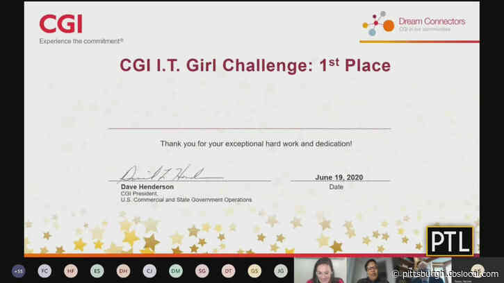 Tech Company Hosts Challenge For Girls To Develop App