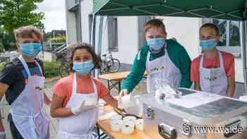 Ferienprogramm Kubalon in Drensteinfurt kommt trotz schlechtem Wetter gut an - 100 kleine Gärtner und Näher... - wa.de