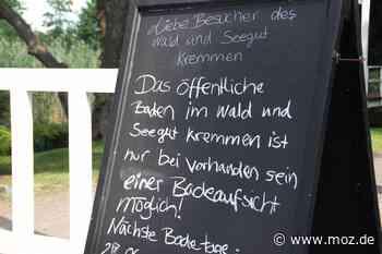 Baden in Kremmen: Wirtschaftlichkeit trifft auf öffentliches Interesse - Märkische Onlinezeitung