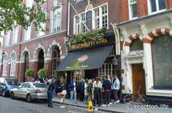 The pubs may be open but Westminster needs to address its drinking problem - Reaction