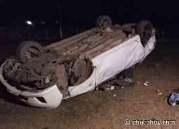General San Martin, tras volcar con su auto, un hombre perdió la vida - ChacoHoy