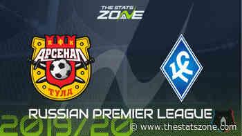 2019-20 Russian Premier League – Arsenal Tula vs Krylya Sovetov Preview & Prediction - The Stats Zone