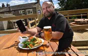 Marquis of Granby uses new Sticky pay system as it reopens - Bradford Telegraph and Argus