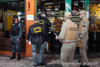 Operação fecha comércio e apreende contrabando em Curitiba - Agência Estadual de Notícias do Estado do Paraná