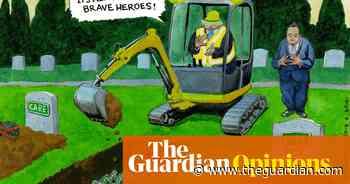 Steve Bell on Boris Johnson's slap for carers – cartoon