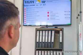 So sieht es im neuen Gerätehaus der Pfaffenhainer Wehr aus - Freie Presse