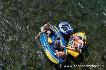 Gefährliche Flussfahrt – Rettung in letzter Minute vor dem Wehr - Tages-Anzeiger