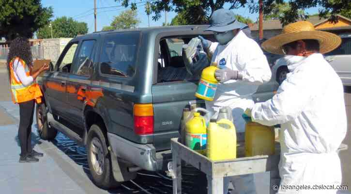 LA Reopens Household Hazardous Waste Disposal Centers