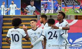 Crystal Palace 2-3 Chelsea: Frank Lampard's Champions League chasers hold off Eagles