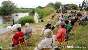 Herleshäuser feiern Gottesdienst am Werraufer - werra-rundschau.de