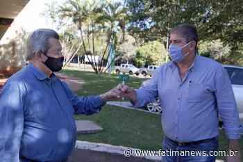 Onevan e Marcílio trabalham para abertura de abatedouro em Novo Horizonte do Sul - Fátima News