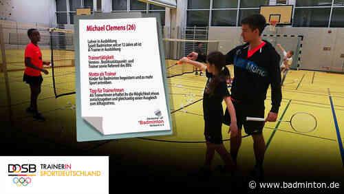 """Projektstart: """"Warum ich Badmintontrainer bin? Weil es mich begeistert!"""""""