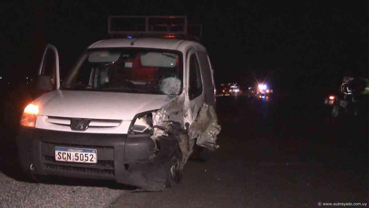 Una motociclista murió tras ser atropellada por una camioneta - Subrayado.com.uy
