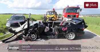 Zwei Schwerletzte nach missglücktem Überholmanöver bei Ostrach - Schwäbische