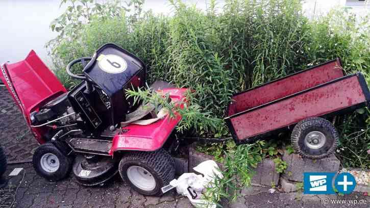 Wilnsdorf: Junge stirbt nach Unfall mit Aufsitzrasenmäher - Westfalenpost