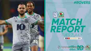 Report: Cardiff City 2-3 Rovers