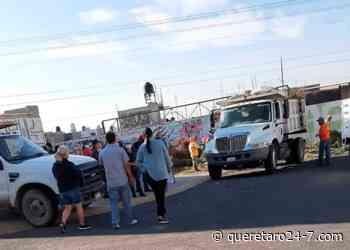 Vecinos de Valle de Santiago, primera sección, agradecen acciones y resultados del municipio de Queretaro. - Querétaro 24-7