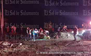 Registran volcadura en la Salamanca - Valle de Santiago - El Sol de Salamanca
