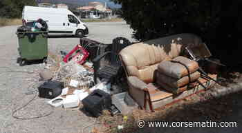 Pas de trêve pour l'incivisme à Corte - Corse-Matin