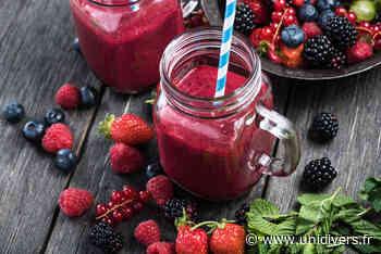 Atelier smoothies et eaux aromatiques Centre social vendredi 31 juillet 2020 - Unidivers