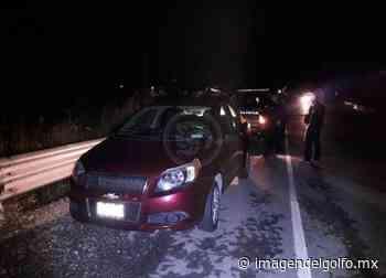 Aseguran dos autos con reporte de robo en Nanchital - Imagen del Golfo