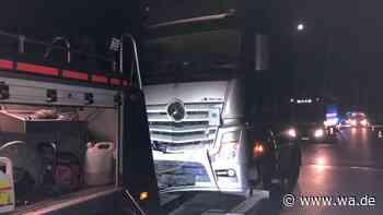 Tödlicher Unfall auf der A1: Fußgänger aus Hamm (NRW) auf Autobahn von Lkw überrollt - wa.de